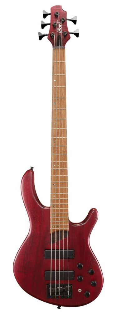 Cort Artisan B5 Plus AS RM Open Pore Burgundy Red